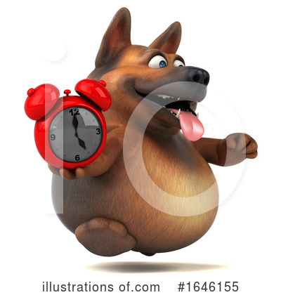 German Shepherd Clipart #1646155 by Julos