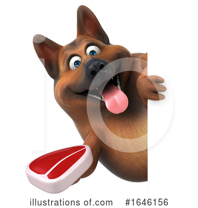 German Shepherd Clipart #1646156 by Julos