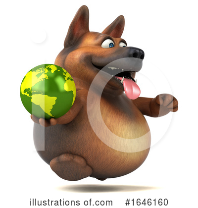 German Shepherd Clipart #1646160 by Julos