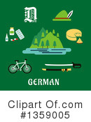 Germany Clipart #1359005 by Vector Tradition SM