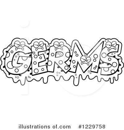 Germ Clipart #1229758 by Cory Thoman