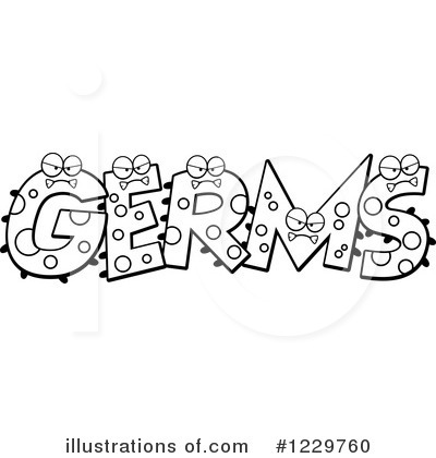 Germ Clipart #1229760 by Cory Thoman