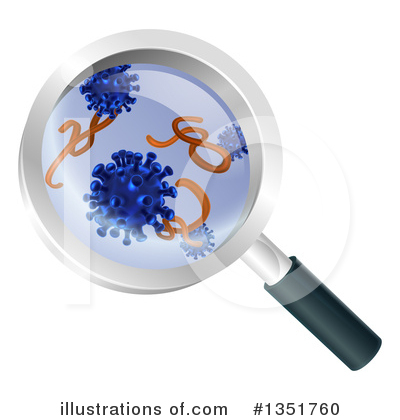 Royalty-Free (RF) Germs Clipart Illustration by AtStockIllustration - Stock Sample #1351760