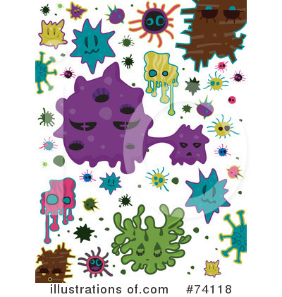 Royalty free rf germs clipart illustration by bnp design studio