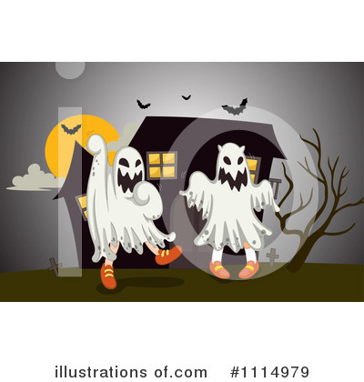 Haunted House Clipart #1114979 by Graphics RF
