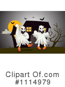 Royalty-Free (RF) Ghost Clipart Illustration #1114979