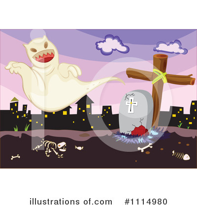 Ghost Clipart #1114980 by Graphics RF