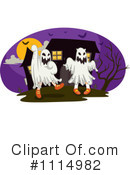 Royalty-Free (RF) Ghost Clipart Illustration #1114982
