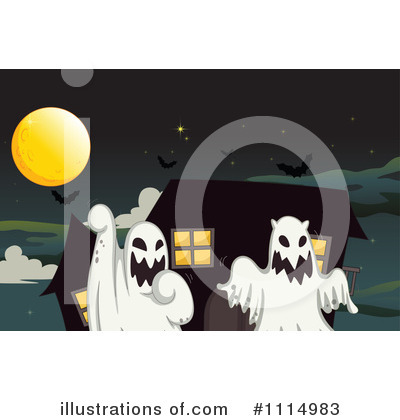 Haunted House Clipart #1114983 by Graphics RF