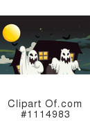Royalty-Free (RF) Ghost Clipart Illustration #1114983