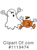 Ghost Clipart #1119474 by Johnny Sajem