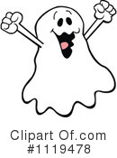 Royalty-Free (RF) Ghost Clipart Illustration #1119478