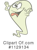 Royalty-Free (RF) Ghost Clipart Illustration #1129134