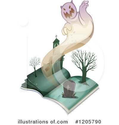 Ghost Clipart #1205790 by Graphics RF