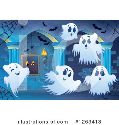 Haunted Hallway Clipart #1263413 by visekart