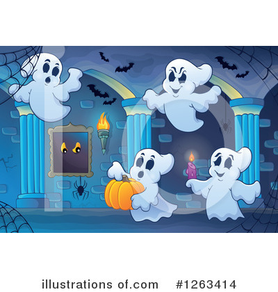Haunted Hallway Clipart #1263414 by visekart