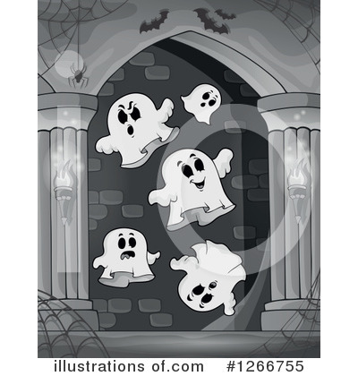 Haunted Hallway Clipart #1266755 by visekart