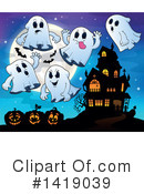Ghost Clipart #1419039 by visekart
