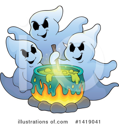 Halloween Clipart #1419041 by visekart