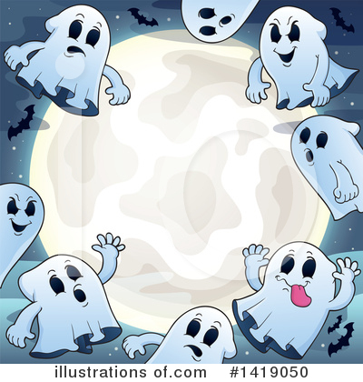 Ghost Clipart #1419050 by visekart