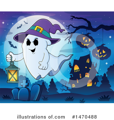 Haunted House Clipart #1470488 by visekart
