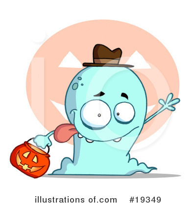 Ghost Clipart #19349 by Hit Toon