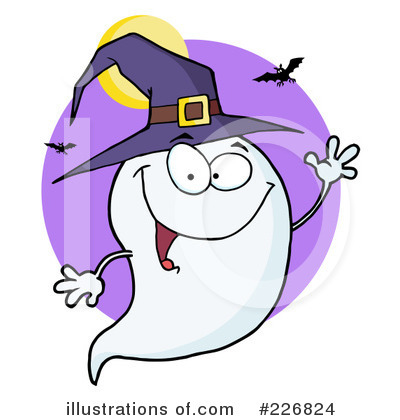 Ghost Clipart #226824 by Hit Toon