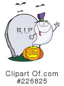Royalty-Free (RF) Ghost Clipart Illustration #226825