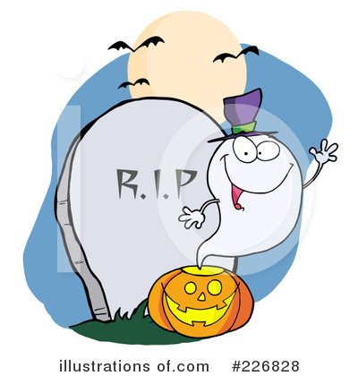 Ghost Clipart #226828 by Hit Toon