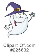 Royalty-Free (RF) Ghost Clipart Illustration #226832