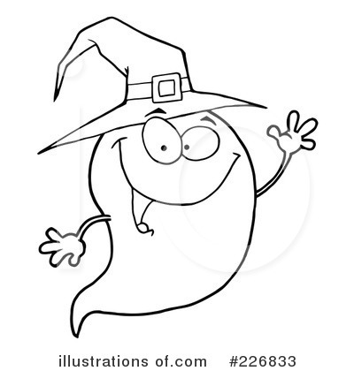 Ghost Clipart #226833 by Hit Toon