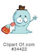 Ghost Clipart #34422 by Hit Toon