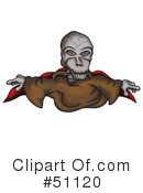 Royalty-Free (RF) Ghost Clipart Illustration #51120