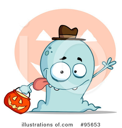 Ghost Clipart #95653 by Hit Toon
