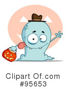 Royalty-Free (RF) Ghost Clipart Illustration #95653