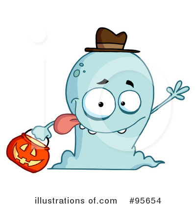 Ghost Clipart #95654 by Hit Toon