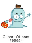 Royalty-Free (RF) Ghost Clipart Illustration #95654
