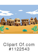 Royalty-Free (RF) Ghost Town Clipart Illustration #1122543