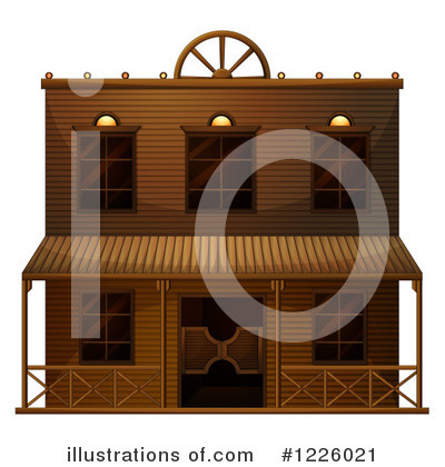 Facade Clipart #1226021 by Graphics RF