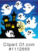 Royalty-Free (RF) Ghosts Clipart Illustration #1112669