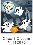 Ghosts Clipart #1112670 by visekart