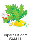 Royalty-Free (RF) Giant Turnip Clipart Illustration #33311