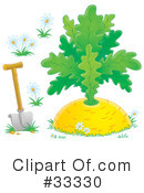 Royalty-Free (RF) Giant Turnip Clipart Illustration #33330