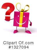 Gift Character Clipart #1327094 by Julos
