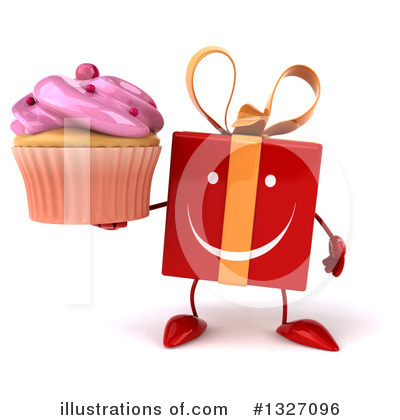Red Gift Clipart #1327096 by Julos