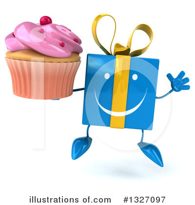 Blue Gift Clipart #1327097 by Julos