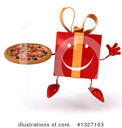 Red Gift Clipart #1327103 by Julos