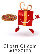 Gift Character Clipart #1327103 by Julos