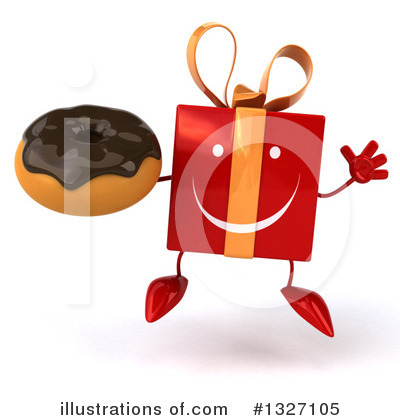 Red Gift Clipart #1327105 by Julos