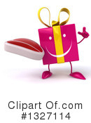 Gift Character Clipart #1327114 by Julos